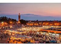 **4x Adult Return Flight Tickets - Manchester to Agadir (Morocco)**