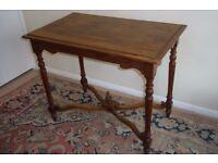 Oak table, antique, elegant