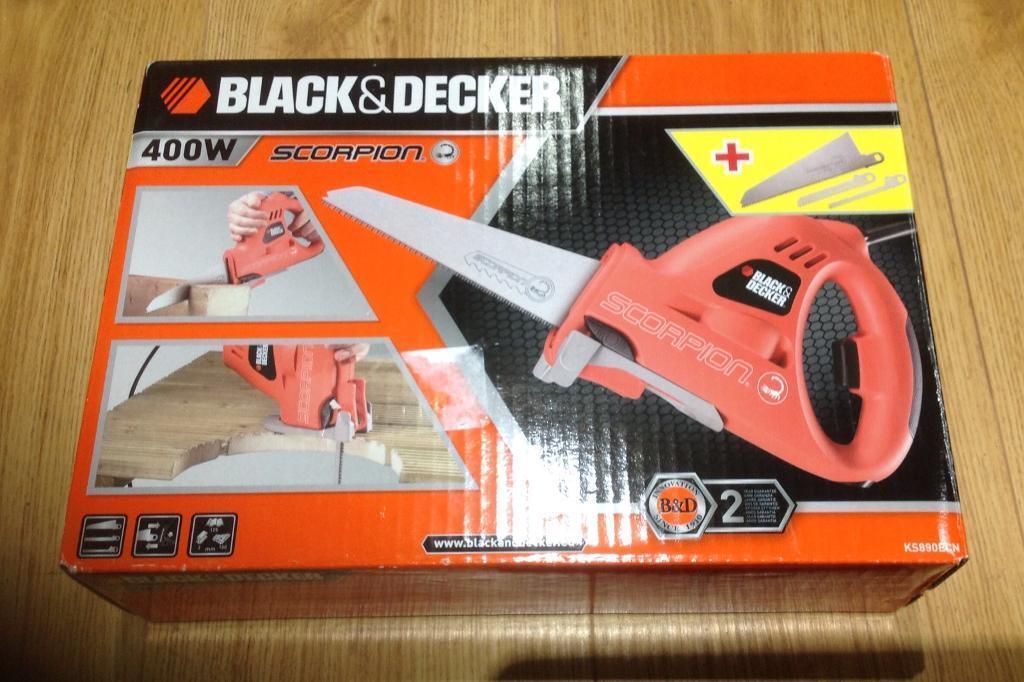 Black & Decker 400 w Scorpion Saw Used Once