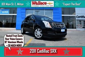 2011 Cadillac SRX BASE/HEATED SEATS/REAR VIEW CAM/18 WHEELS