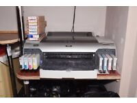 Epson Stylus Pro 4800 Printer, plus additional 8 new Ink cartridges, all in good working order