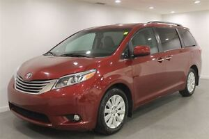 2015 Toyota Sienna XLE 7 Pass AWD Low Kms  Loaded