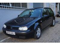 Volkswagen Golf 1.4 Match 3dr Low insurance NEW MOT ready to drive away