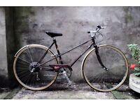 RALEIGH MISTY, vintage ladies dutch style mixte frame road bike, 20 inch, 5 speed