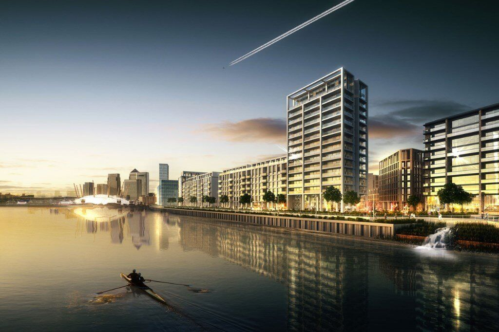 BRAND NEW! BE THE FIRST TO LIVE HERE - 3 BED 2 BATH APARTMENT ROYAL DOCKS / CANARY WHARF E16 DLR