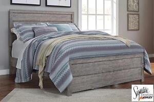 Culverbach Grey Complete Queen Bed