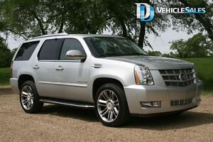 2013 Cadillac Escalade PREMIUM, AWD, NAVIGATION, LEATHER, DVD