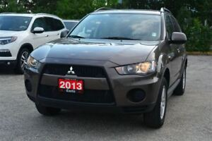2013 Mitsubishi Outlander ES/GREAT FAMILY VEHICLE/LOW KM'S!!!