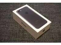Apple IPhone 7 Matt Black 128GB Unlocked With Warranty