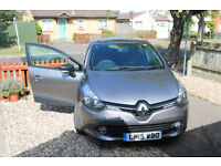 New Clio diesel 1.5 dCi 90 Expression+ 5dr start/stop, 2015, warranty, perfect, free road tax