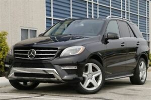 2012 Mercedes-Benz M-Class ML 550 4MATIC AMG SPORTS PKG