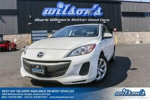 2013 Mazda MAZDA3 GX SEDAN! POWER PACKAGE! KEYLESS ENTRY! NEW TI