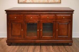 Modern solid wood sideboards and buffets