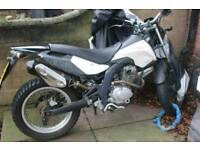 Derbi cross city 125cc not sender