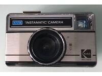 CAMERA BUNDLE: VINTAGE KODAK INSTAMATIC 177X / KONICA Z-UP 110 SUPER