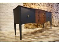SIDEBOARD ,CHEST OF DRAWERS , SHABBY CHIC, VINTAGE,RETRO,solid wood (free delivery)