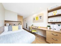 STUDENT ROOM TO RENT IN GLASGOW. EN-SUITE WITH PRIVATE ROOM, PRIVATE BATHROOM AND STUDY SPACE