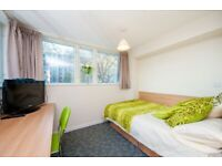 STUDENT ROOMS TO RENT IN LONDON CLASSIC WITH 3/4 DOUBLE BED, PRIVATE BATHROOM