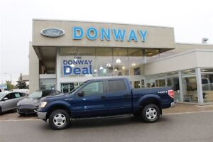 2012 Ford F-150 XLT SUPERCREW|V8|4X4|HARD TRIFOLD AND BEDLINED!