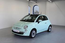 FIAT 500 1.2 Lounge 3dr [Start Stop] (green) 2014