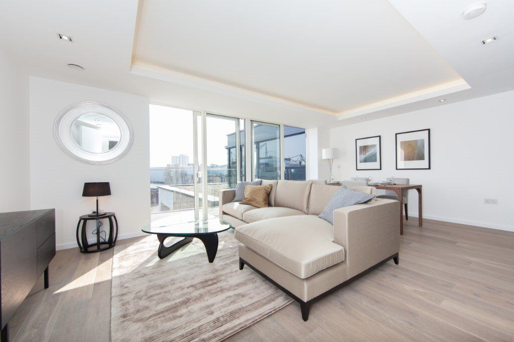 VACANT & BRAND NEW! - LUXURY DESIGNER FURNISHED 2 BED 2 BATH APARTMENT IN FULHAM HAMMERSMITH SW6 SW5