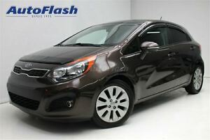 2012 Kia Rio EX Luxury w/UVO * Caméra * Bluetooth * Toit/Roof *