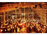 Waiting staff needed for SUSHISAMBA London