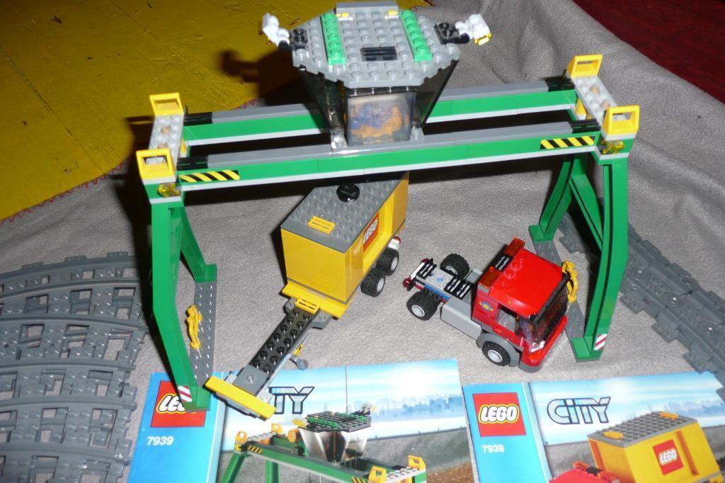 Lego Crane Truck Lego Crane And Truck in Good
