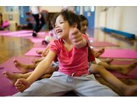 Children's Yoga Teachers required for cover