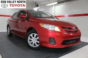2013 Toyota Corolla CE ENHANCED CONVENIENCE PKG Btooth Heated Se