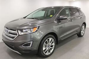 2015 Ford Edge Titanium| Leather|Vista Roof| Driver Asst|Nav| SY