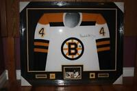 Bobby Orr Signed Boston Bruins Jersey Authenticated