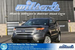 2014 Ford Explorer XLT SUV 4X4! LEATHER! PANORAMIC SUNROOF! REAR