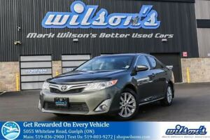 2014 Toyota Camry XLE LEATHER! NAVIGATION! SUNROOF! BLIND SPOT M