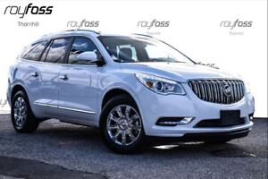 2017 Buick Enclave AWD Leather Chrome wheels Dual roofs