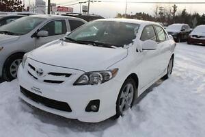 2013 Toyota Corolla Sport à partir de 46$/semaine 100% approuvé