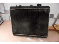radiator with cooler, adds air conditioner coolers Citroen C5 2.0 HDI