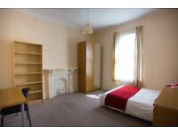Large double room in super friendly house share. Bills included. No fees :)