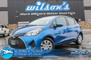 2015 Toyota Yaris LE | HATCHBACK | A/C | POWER PACKAGE | KEYLESS