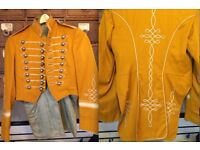 Stunning Vintage New Orleans Gold Band jacket made by Sol Frank Uniforms Inc.