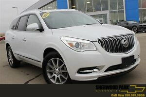 2016 Buick Enclave Leather| Heat Seat/Wheel| Sun| Pwr LGate| Rem