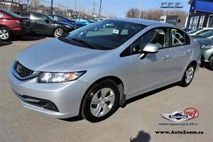 2013 Honda Civic LX * 33,31$/sem*
