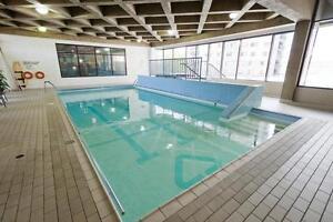 3 1/2, piscine, gym, ville de Québec