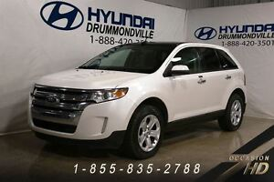 2011 Ford Edge SEL + AWD + JAMAIS ACCIDENTÉ + PANO + HITCH + SIÈ