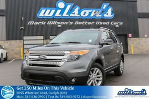 2014 Ford Explorer XLT 4X4! LEATHER! NAV! TOW PKG! REAR CAMERA+S