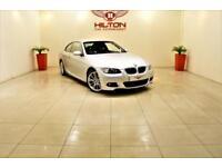 BMW 3 SERIES 2.0 320D M SPORT 2d AUTO 175 BHP M SPORT SPEC + AI (silver) 2007