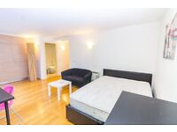 VACANT FURNISHED STUDIO APARTMENT IN SE13 - DEPTFORD LEWISHAM DLR GYM CONCIERGE CANARY WHARF CITY