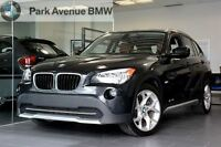 2012 BMW X1 xDrive28i SPORT/ RED LEATHER/ PREMIUM