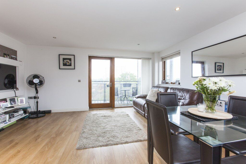 Stunning 2 bedroom property with wrap around private balcony. Finished to a very high standard!