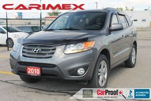 2010 Hyundai Santa Fe Limited 3.5 | Leather | Sunroof | CERTIFIE